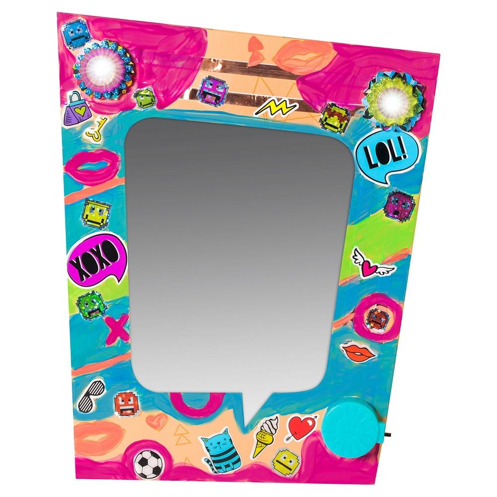 Educational Insights IllumiCraft Light Up! Wall Mirror