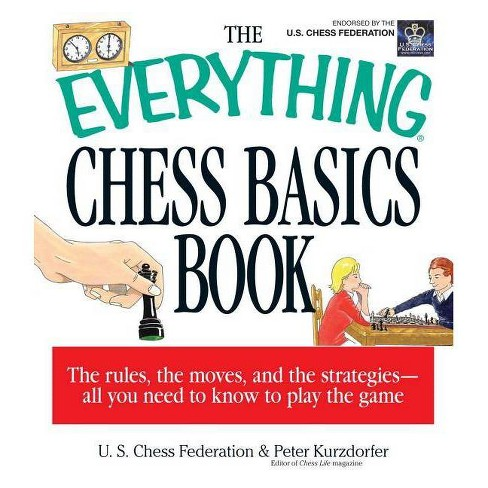 The Everything Chess Basics Book - (Everything (Hobbies & Games)) (Paperback) - image 1 of 1