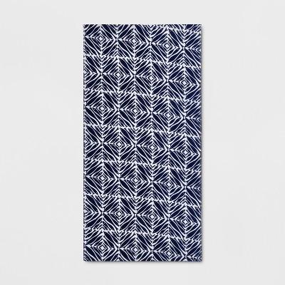Minnows Beach Towel Navy - Opalhouse™