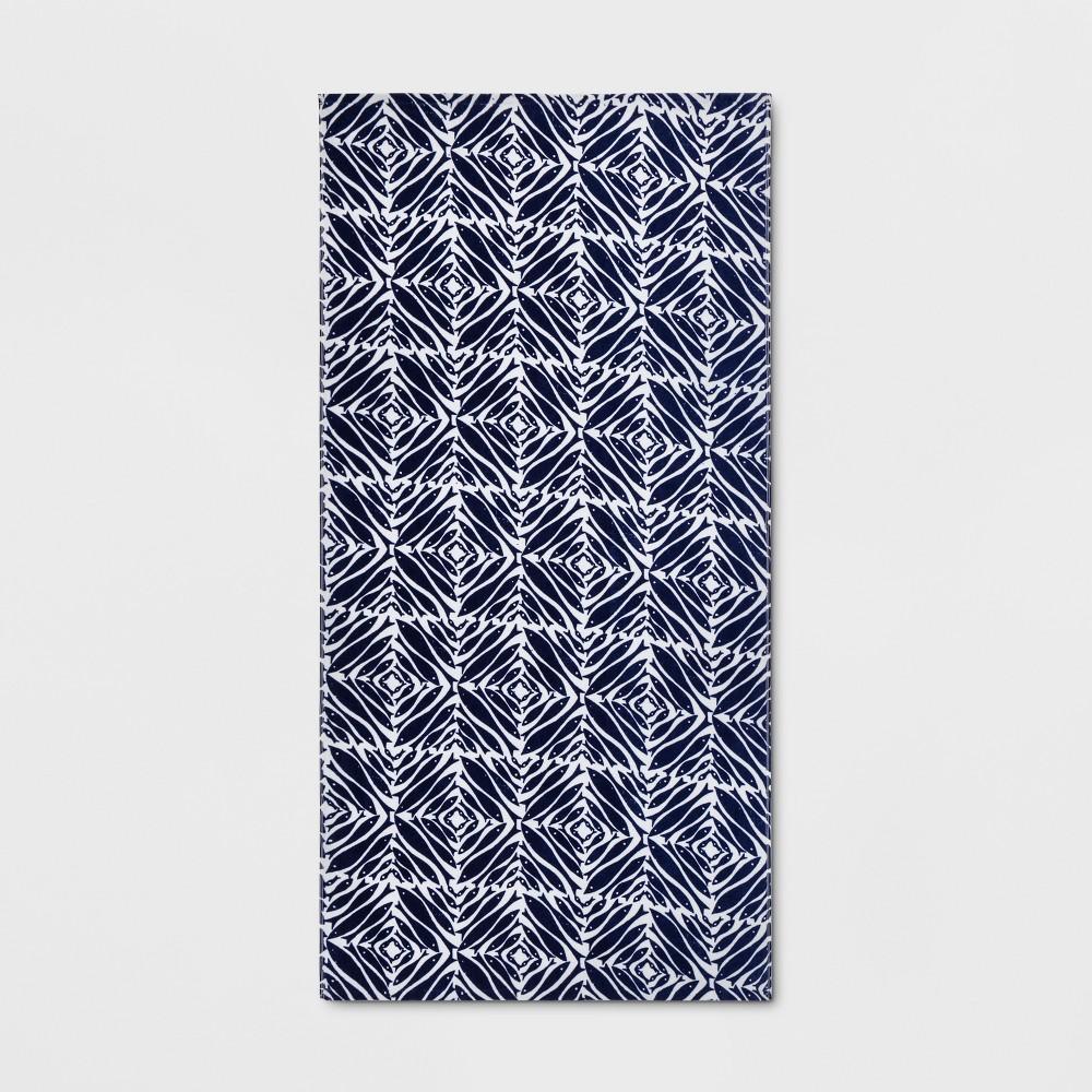 Minnows Beach Towel Navy (Blue) - Opalhouse