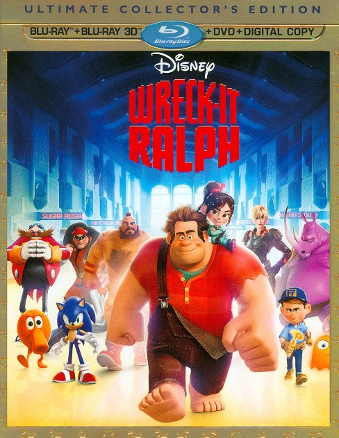 Wreck It Ralph 3d (Blu-ray) - image 1 of 1
