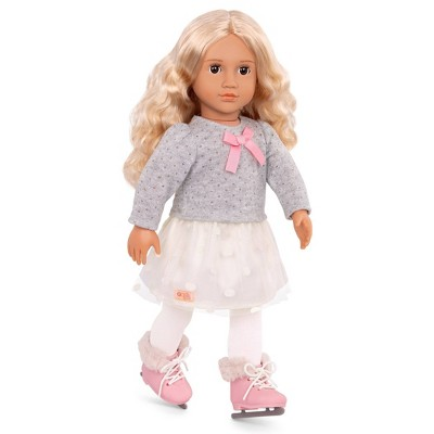 """Our Generation 18"""" Ice Skating Doll - Tess"""