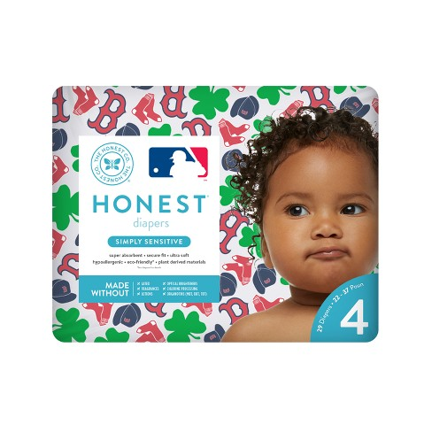 Honest Company Diapers, Boston Red Sox (Select Size) - image 1 of 1