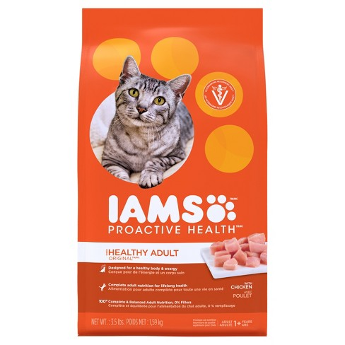 Iams ProActive Healthy Adult Original Chicken Dry Cat Food - image 1 of 5