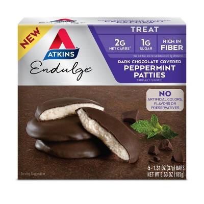 Atkins Endulge Bars - Peppermint Patties - 5ct