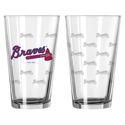 MLB Boelter Brands 2 Pk Pint Glass Set - 16 oz - image 1 of 1