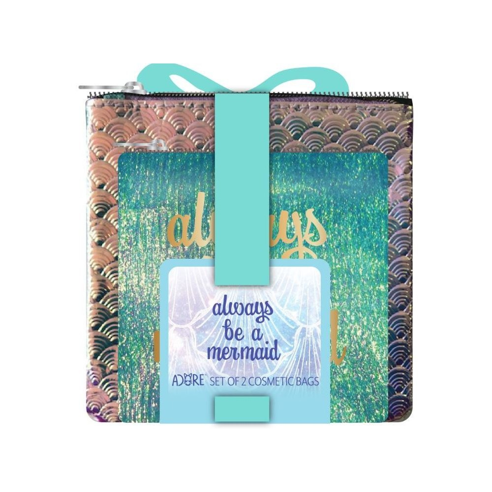 Image of Adore Always Be a Mermaid Bag Set - 2pc, Blue