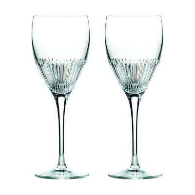 Royal Doulton 11.5oz 2pk Crystal Calla Wine Glasses