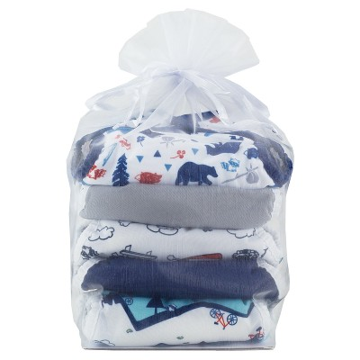 Thirsties Snap Duo Wrap Outdoor Adventure Diaper Collection, Size 1 - Adventure Trail