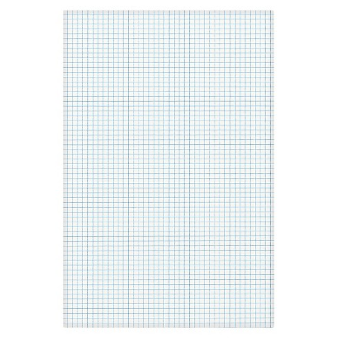 Ampad® Quadrille Pad, 11 x 17, White, 1, 50-Sheet Pad - image 1 of 1