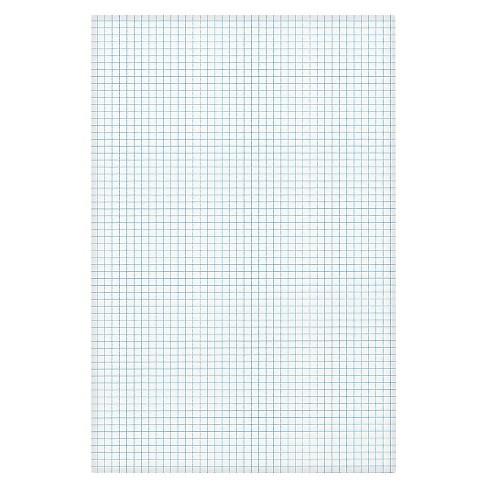 Ampad Quadrille Pad 11 X 17 White 1 50 Sheet Pad Target