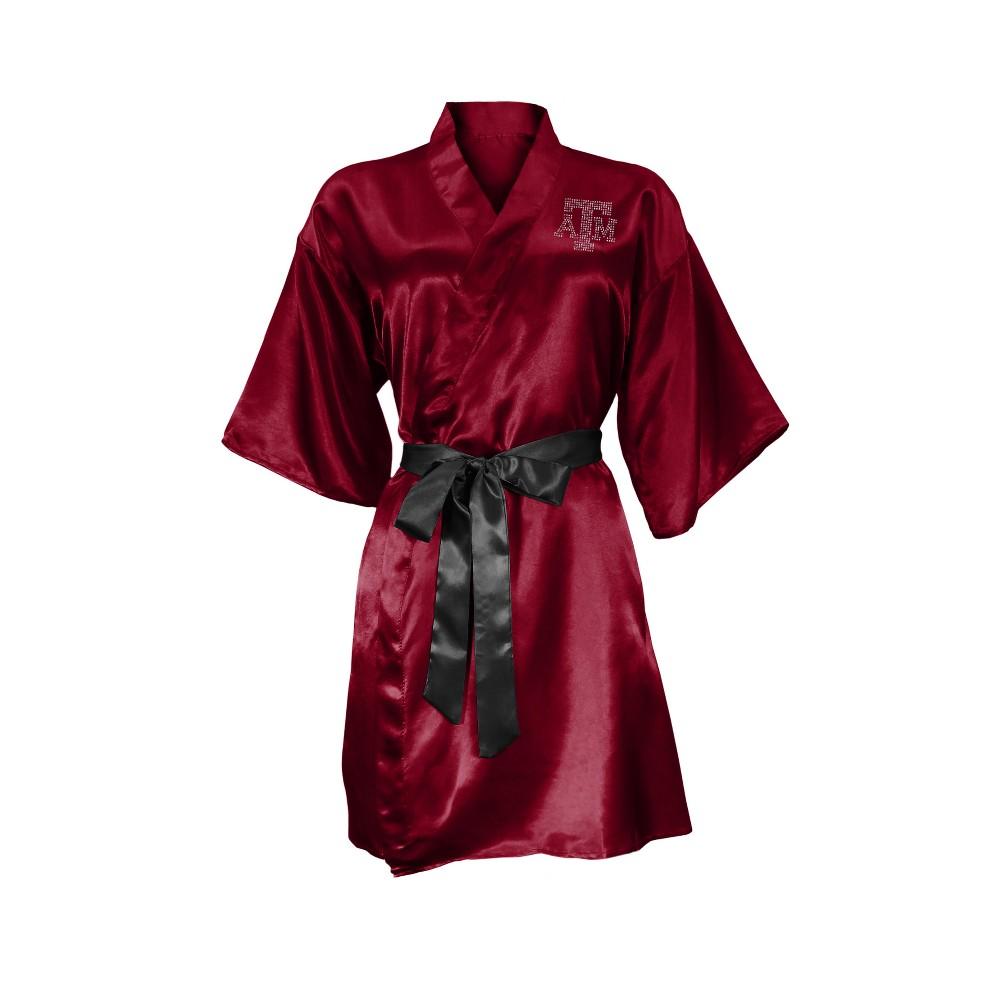 NCAA Texas A&m Aggies Little Earth Satin Kimono - L/XL