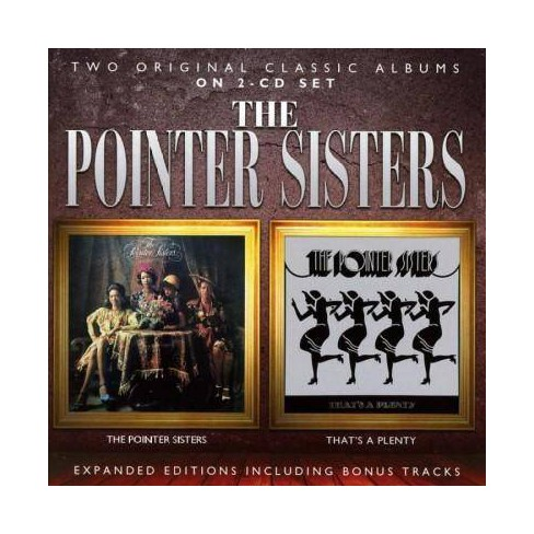 Pointer Sisters - Pointer Sisters/That's a Plenty: Expanded Editions (CD) - image 1 of 1