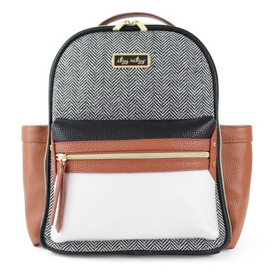 Itzy Ritzy Mini Backpack Diaper Bag - Coffee and Cream