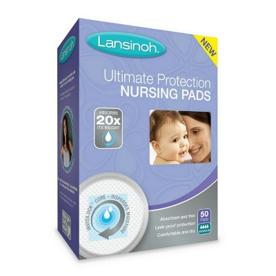 Lansinoh Ultimate Protection Nursing Pads 50ct