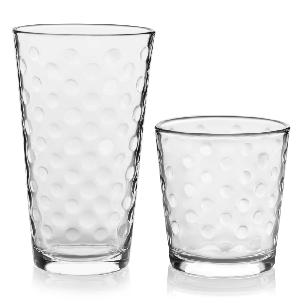 Image of Libbey Awa 16pc Cooler Glass Set, Clear
