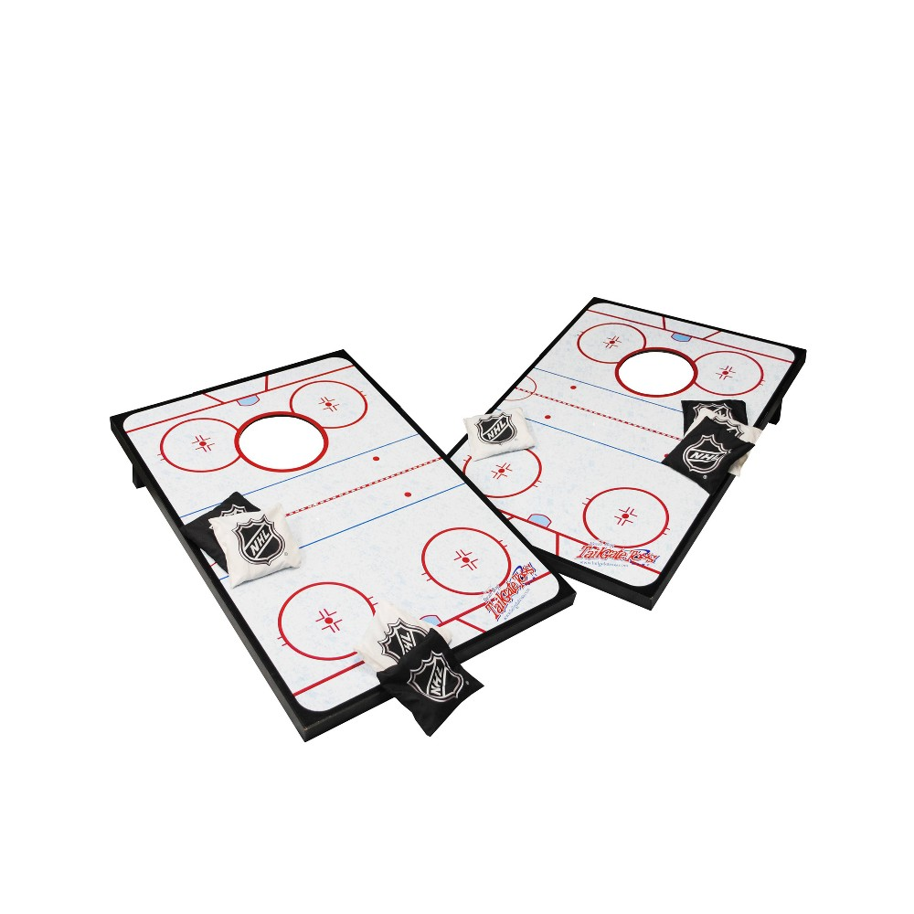 Image of Wild Sports Tailgate Toss Bean Bag Game 2'x3' Hockey Rink
