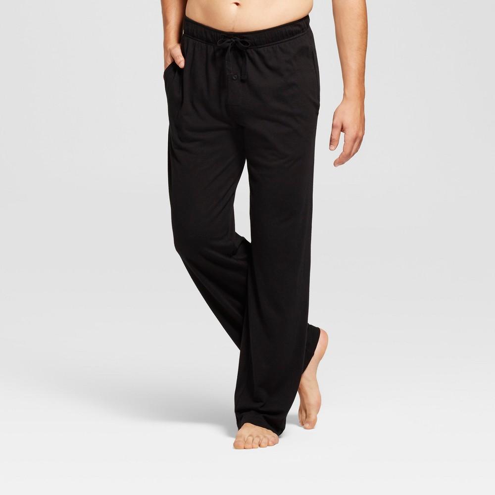 Image of Men's Knit Pajama Pants - Goodfellow & Co Black 2XL, Men's
