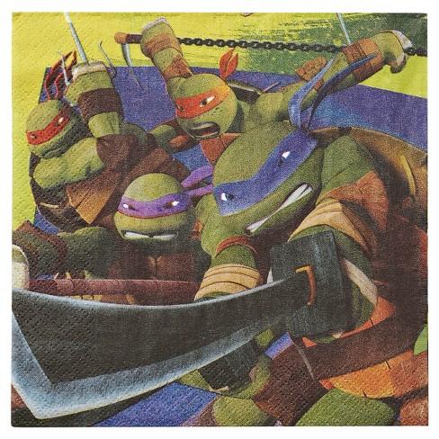 16ct Teenage Mutant Ninja Turtles Lunch Napkins - image 1 of 1