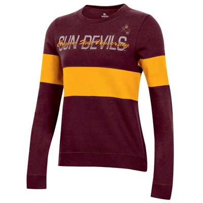 NCAA Arizona State Sun Devils Women's Long Sleeve Crew Neck Sweatshirt