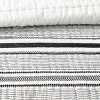 Textured Stripe Quilt Railroad Gray - Hearth & Hand™ with Magnolia - image 2 of 4