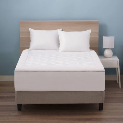 Lavender Infused Microfiber Mattress Pad - Allied Home