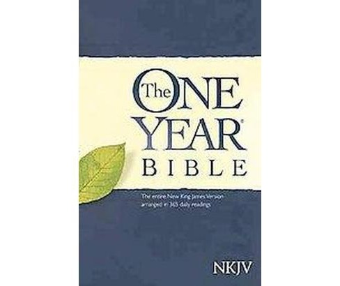 One Year Bible : New King James Version (Paperback) - image 1 of 1