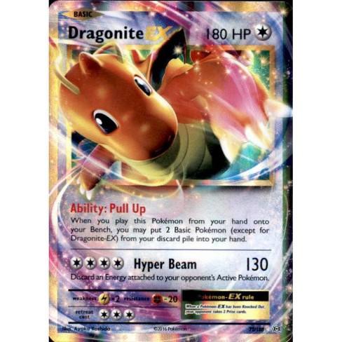 Pokemon X and Y Evolutions Rare Holo ex Dragonite EX #72 - image 1 of 1