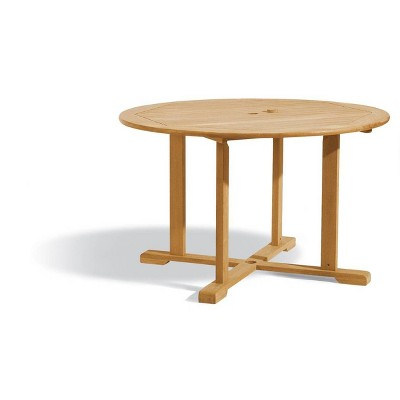 """48"""" Round Dining Table Natural - Oxford Garden"""
