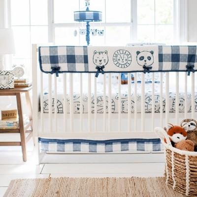 My Baby Sam Animal Parade Crib Bedding Set - 9pc