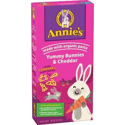 Annie's Yummy Bunnies & Cheddar Pasta & Cheese - 6oz
