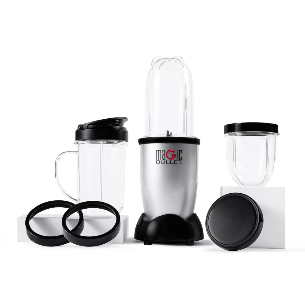 Magic Bullet Personal Blender - 11pc Set, Silver