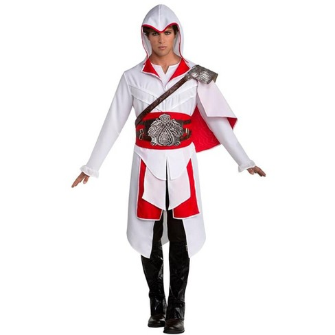 Palamon Assassin S Creed Ezio Men S Costume White X Large 50