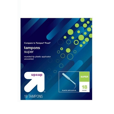 Tampons: up & up Plastic Applicator