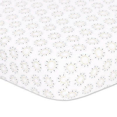The Peanut Shell Little King Fitted Sheet