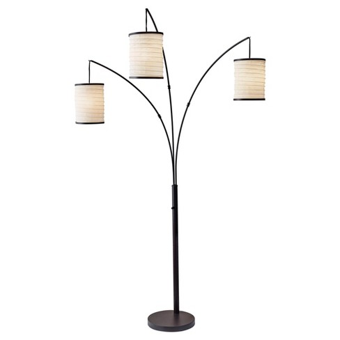 Adesso Bellows Arc Lamp - Brown - image 1 of 2