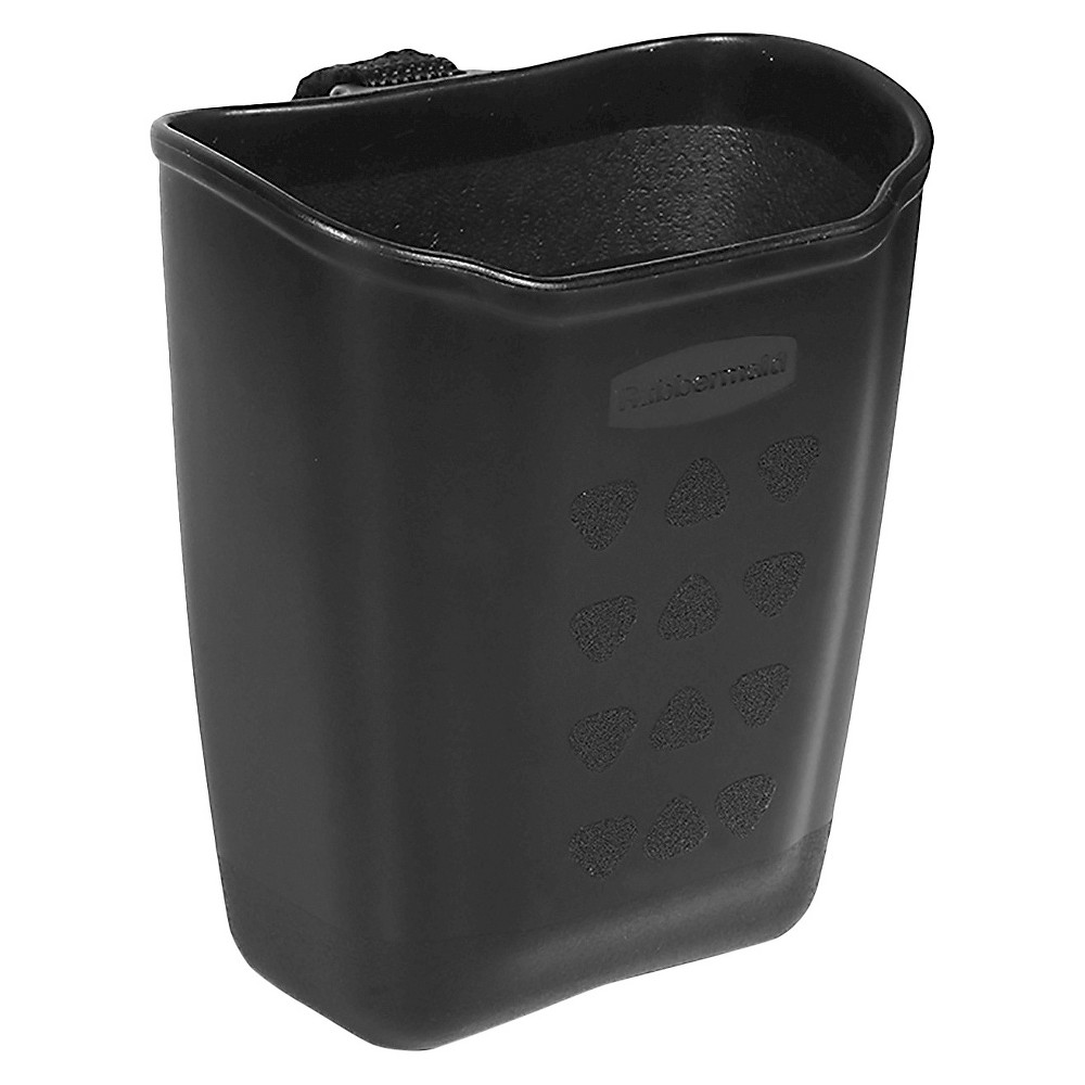 Rubbermaid Mobile Organizer Hard-side Vent Catch All, Black