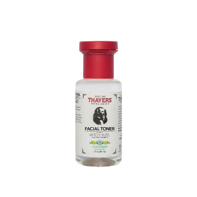 Thayers Trial Size Witch Hazel Alcohol Free Toner Cucumber   3oz by Thayers Natural Remedies