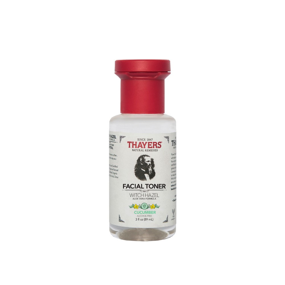 Image of Thayers Trial Size Witch Hazel Alcohol Free Toner Cucumber - 3 fl oz