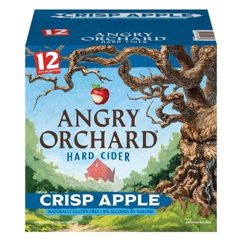 Angry Orchard Crisp Apple Hard Cider - 12pk/12 fl oz Bottles - image 1 of 4