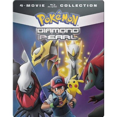 Pokemon Diamond & Pearl: 4-Movie Collection (Blu-ray)(2017)