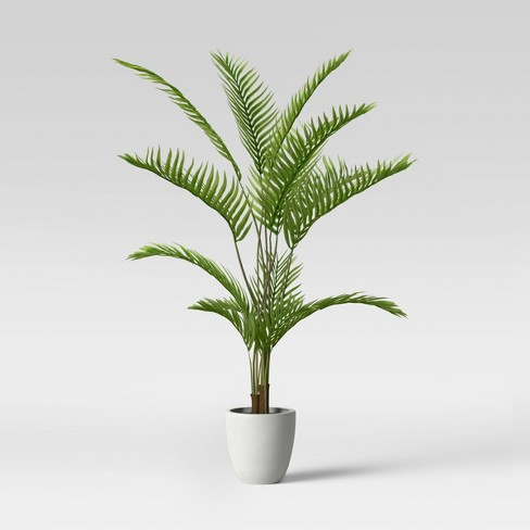 """58"""" Palm Tree in Cement Pot - Threshold™ - image 1 of 1"""