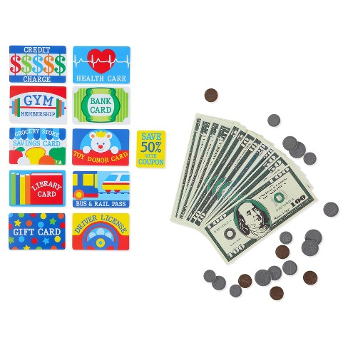 Melissa & Doug®  Pretend to Spend Wallet - image 1 of 4