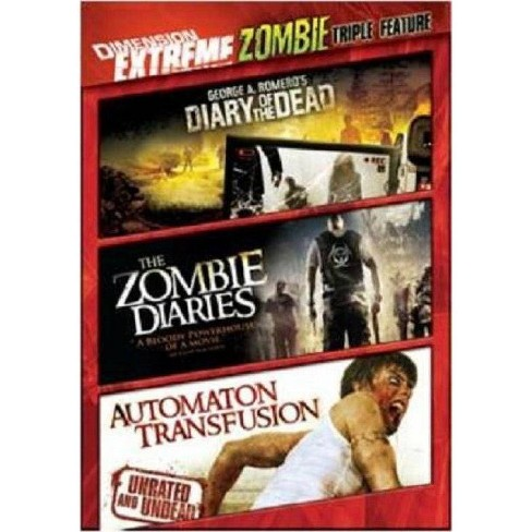 Dimension Extreme Zombie Triple Feature (DVD) - image 1 of 1