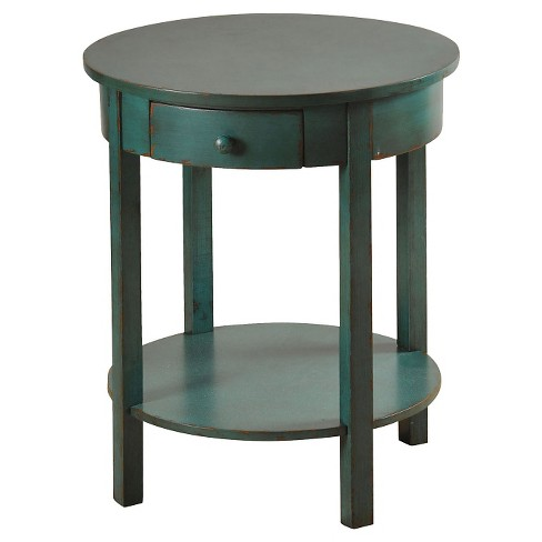 Round Side Table Antiqued Finish - StyleCraft - image 1 of 1
