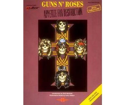 Guns N Roses - Appetite for Destruction : Guitar/Vocal/Tablature (Paperback) - image 1 of 1