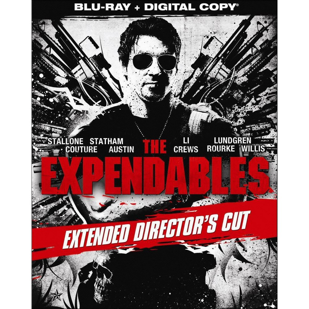 The Expendables [Extended Director's Cut] [Includes Digital Copy] [Blu-ray]