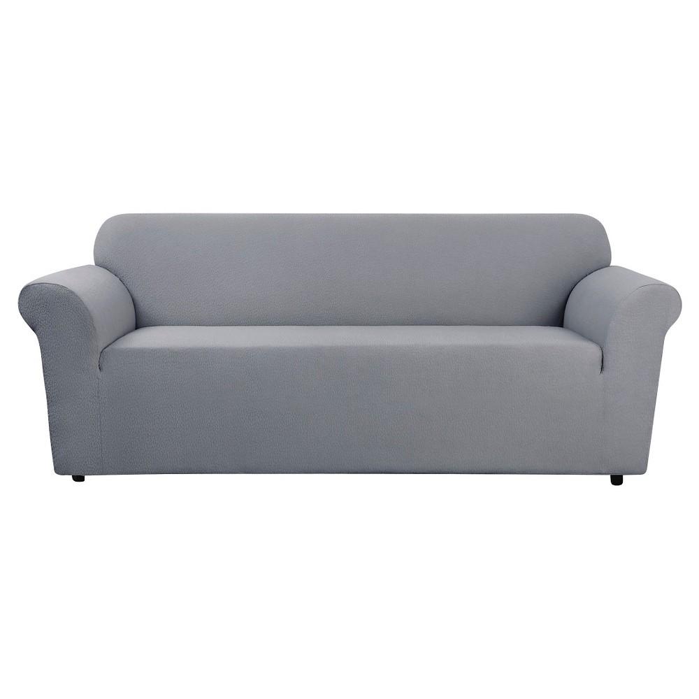 Stretch Leaf Sofa Slipcover Mist (Blue) - Sure Fit