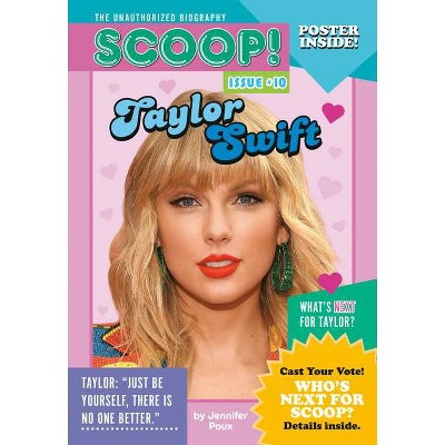 Taylor Swift - (Scoop! the Unauthorized Biography) by  Jennifer Poux (Paperback)