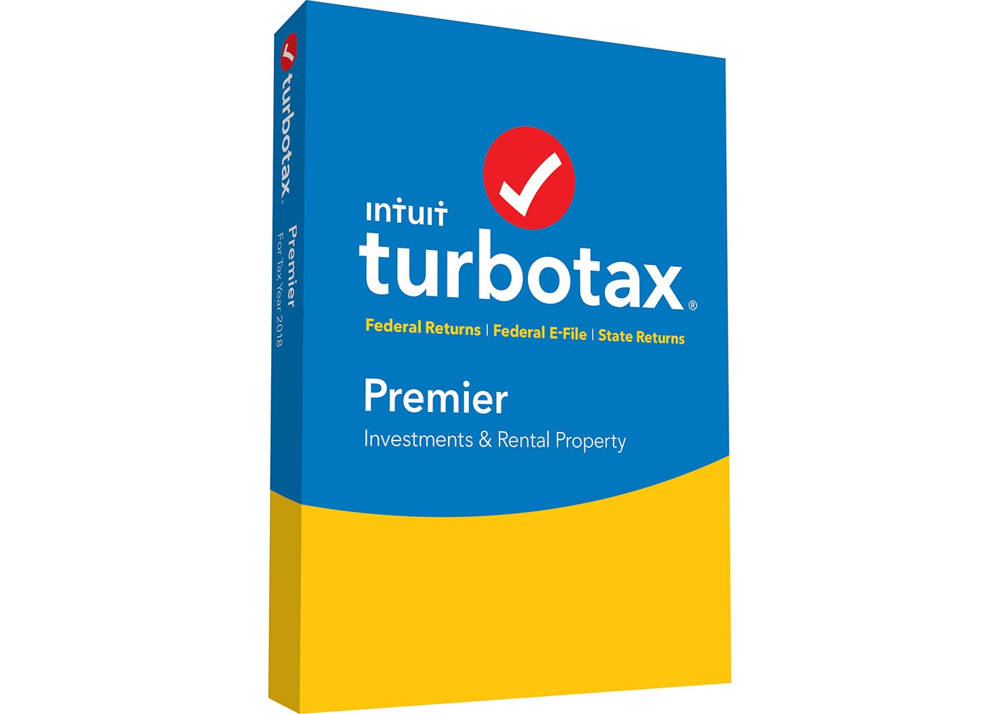 Intuit Turbotax Premier Federal + State 2018 - image 1 of 1
